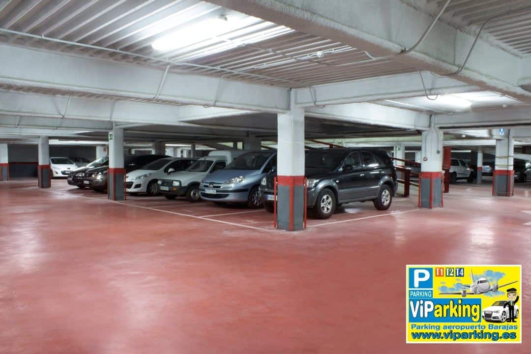 Parking larga estancia Barajas