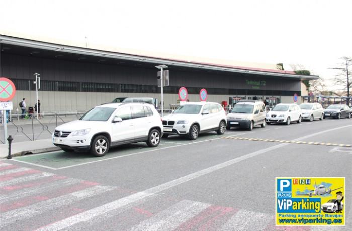 Recogida y entrega Terminal T2 Salidas