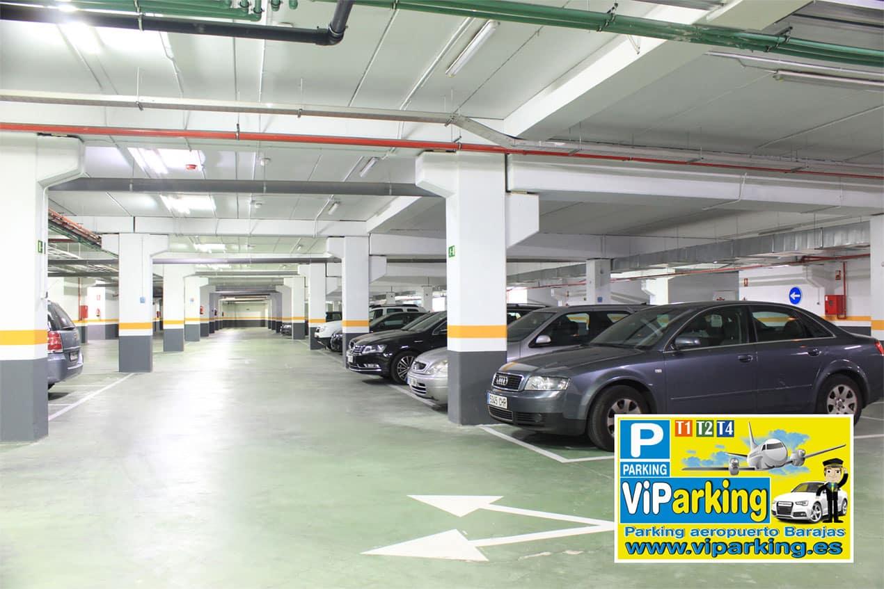 Parking aeropuerto Madrid Barajas