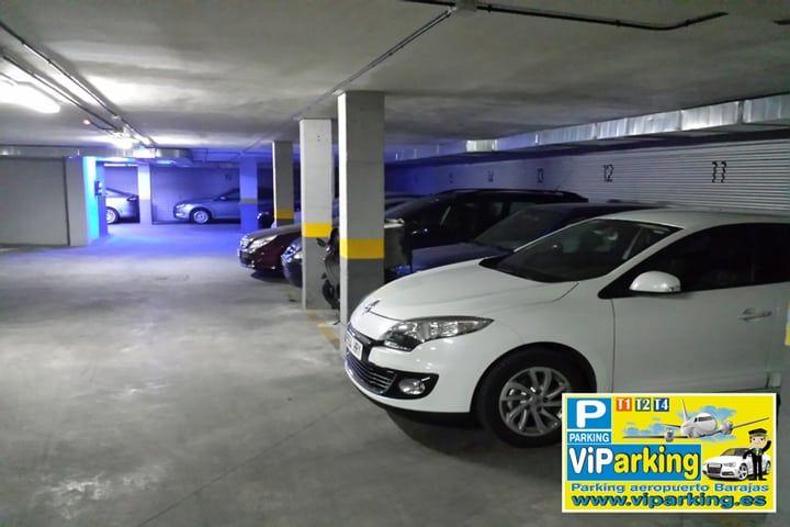Viparking parking larga estancia aeropuerto madrid