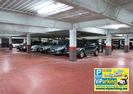 Parking aeropuerto Madrid t2