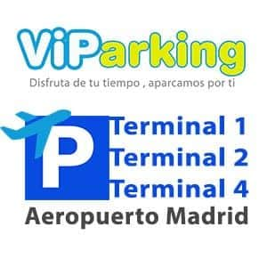 Parking Aeropuerto Madrid, Parking Barajas larga estancia T1, T2, T3 y T4