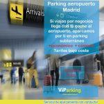precio parking aeropuerto Madrid