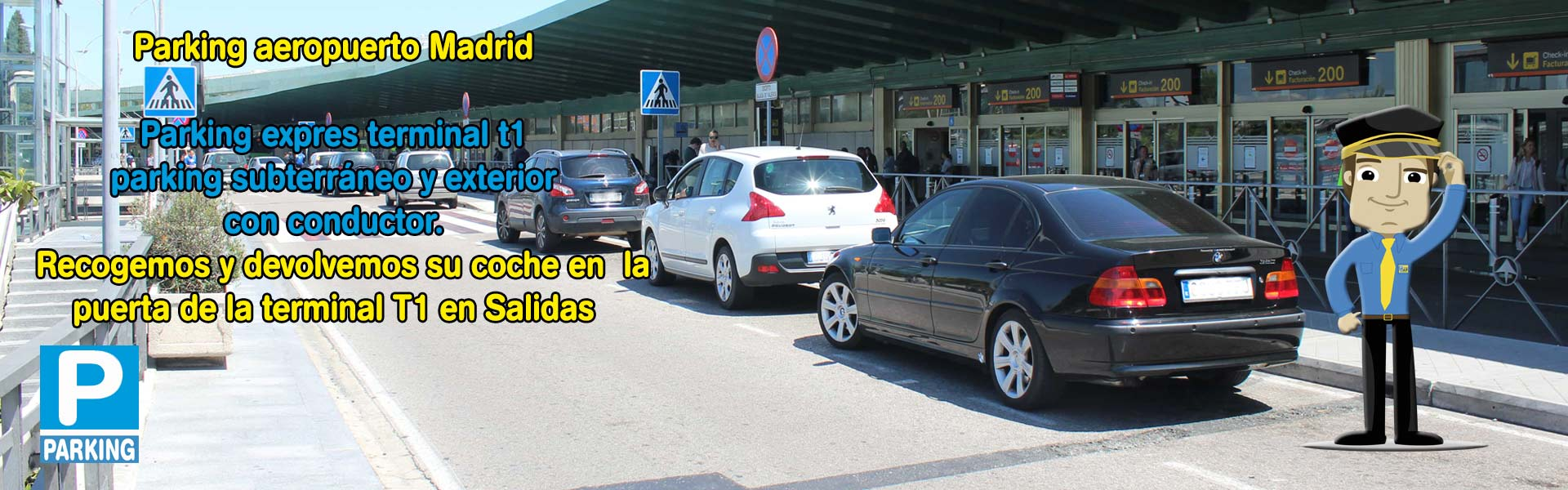 parking expres t1 Madrid