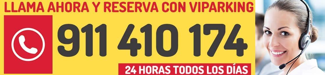 reserva parking aeropuerto Madrid