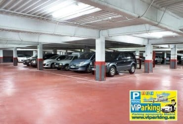 Parking larga estancia Madrid T1